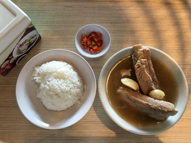 Super tasty pork ribs soup @ new year brunch