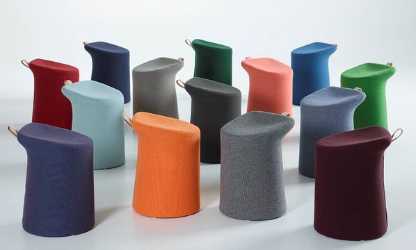 The Lilla stool from Artifort - colourful, practical and comfortable!