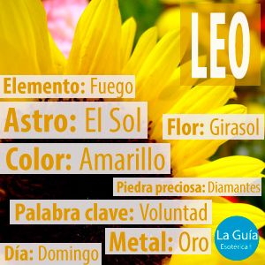 Descubre más sobre Leo: http://www.laguiaesoterica.com/horoscopos/20-leo-24-julio-23-agosto.html