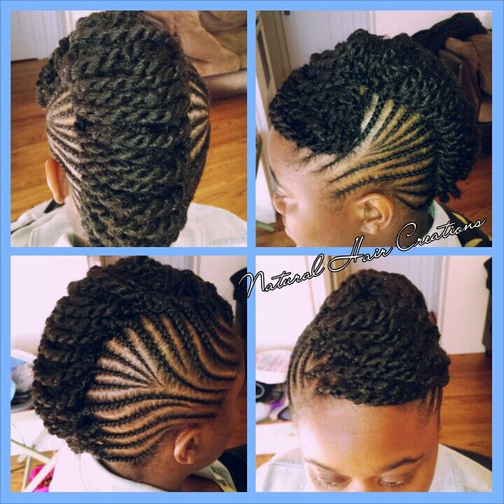 Pleasing 1000 Images About Protective Natural Hairstyles On Pinterest Hairstyles For Women Draintrainus