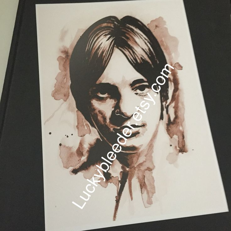 The small faces Steve Marriott watercolour illustration