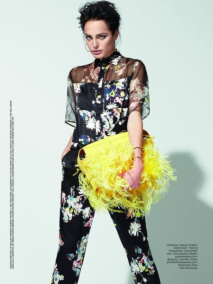 Queen of Prints (Harper's Bazaar Greece)