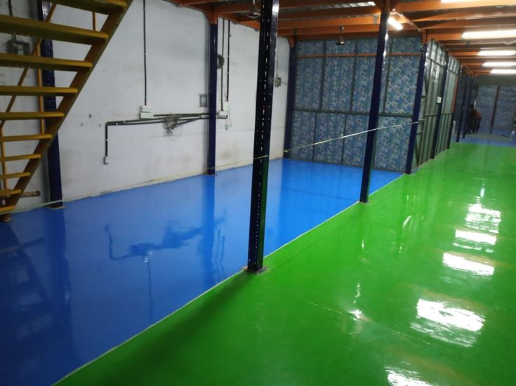 Just Completed 1MM Epoxy flooring system Bangalore1mm