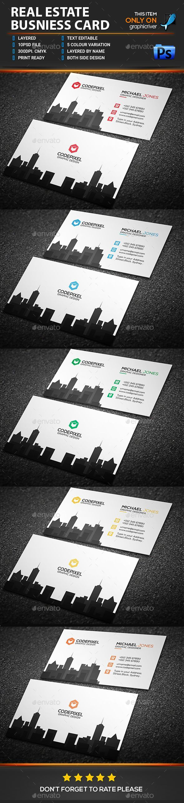 2868 Best Business Card Template Design Images On Pinterest