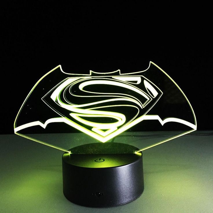 New Colorful Visual Stereo Lamp Superman vs Batman LED Touch Gradient Changing. New Colorful Visual Stereo Lamp Superman vs Batman LED Touch Gradient Changing 3D Lamp Creative Energy-saving Lamps USB Light  7 Colors Change Lampe Marvel 3D Lamp Iron Man Light BatmanLuminaria USB Night Light for Children Bedroom Mood Lamp  Hot selling 1:Crazy popular special for young people; Hot selling 2:Amazing Innovative 3D illusion night lamp; Hot selling 3:Fit for Hotel/Room/Coffee bar/bar/KTV and…