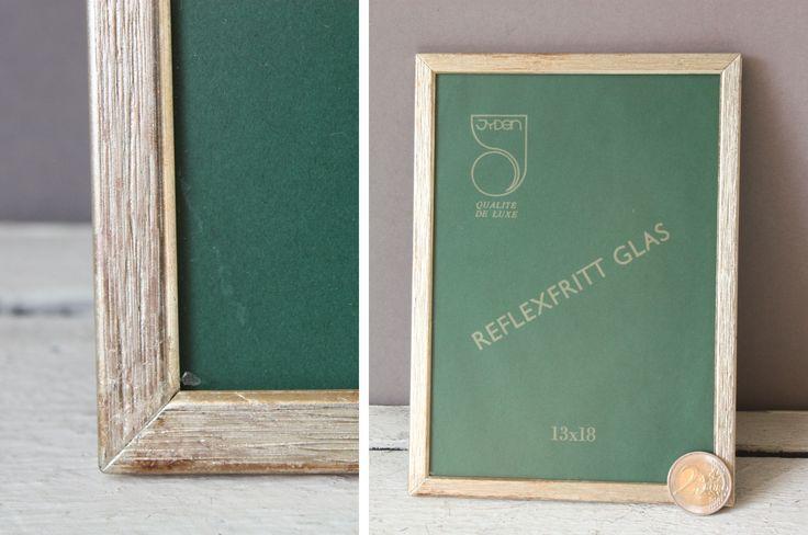 """Jyden Picture Frame 7,21 """"x 5,24"""" antike elegante Mitte des Jahrhunderts, Vintage Fotorahmen, schlicht Silber, 30er Jahre 40er Jahre Dänemark, Hochzeitsgeschenk Frau ihr"""