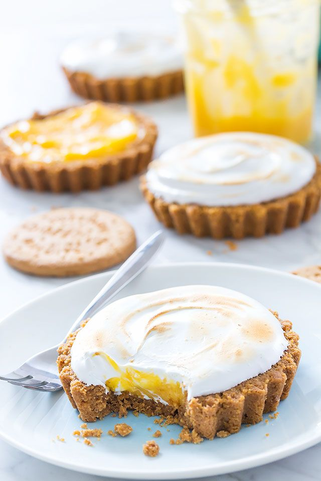 Lemon Meringue Tarts