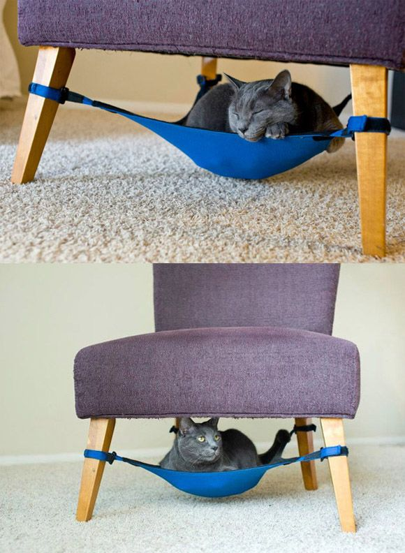 Space Saving Cat Bed :: Cat Crib