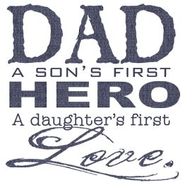 Father's Day quote, Happy Father's Day