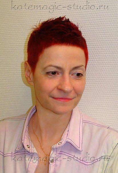 Женская стрижка, окрашивание волос, красный цвет, короткие волосы, идея прически, повседневная укладка. Студия KateMagic. Москва, м. Борисово. Телефон для записи: (495) 340 01 00 http://vk.com/katemagicstudio