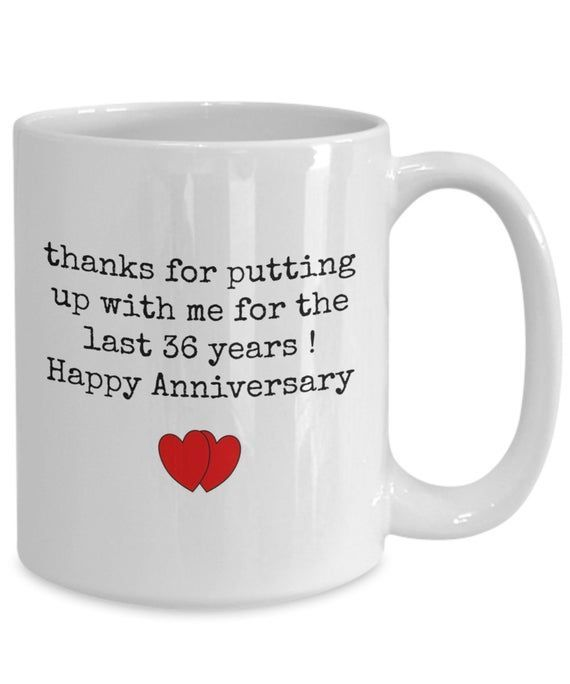 36th Anniversary Gift For Husband 36 Year Anniversary Gift For Him Funny Wedding Anniversary Gifts For Husband 30th Anniversary Gifts 50th Anniversary Gifts