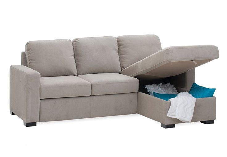Jacobson Sofa Bed with Storage Chaise | Super A-Mart