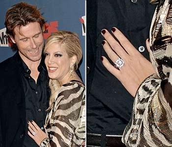 Celebrity style diamond rings