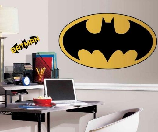 decals wall stickers batman giant giant wall boys room batman logo