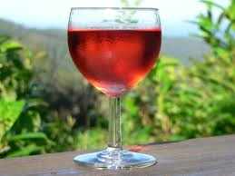 Cold Rose wine