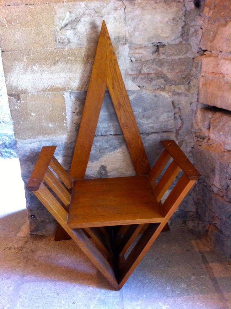 My wife loved this chair at Chartreuse de Villeneuve lez Avignon