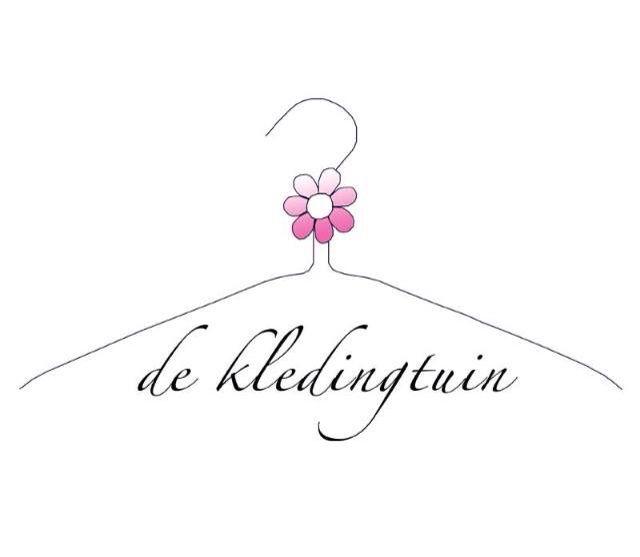 Logo voor de kledingtuin; een kleding bibliotheek die in april 2016 haar deuren opent in Alkmaar.
