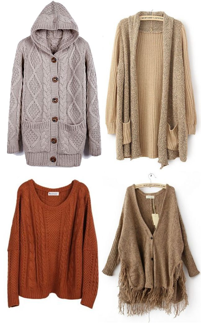 Chilly? Grab a Neutral Sweater for Warmth and Coziness!! #cardigan #sweater #jumper #Fall
