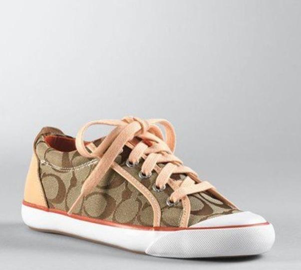 Small Handbags: Coach Tennis Shoes
