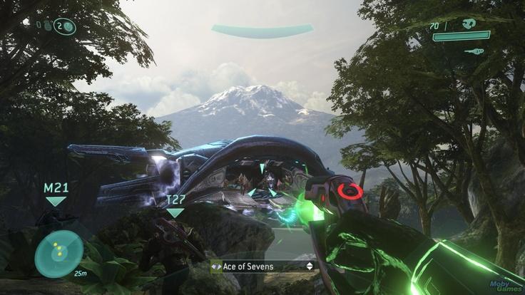 Halo 3 combat interface