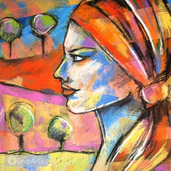 jest dobrze - rysunek pastelami suchymi - Na ścianę - Rysunek i grafika - Grupart.pl