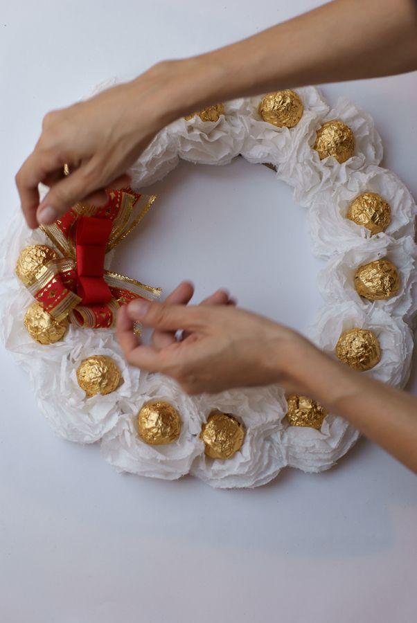 #xmas #DIY Ferrero Rocher