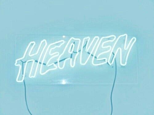 background, blue, heaven, neon, neon light