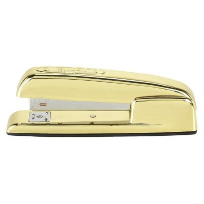 Nate Berkus Stapler - I want the whole Nate Berkus gold office supply line for my home office!