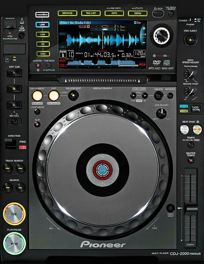 Pioneer CDJ-2000 DJ Controller Driver Windows