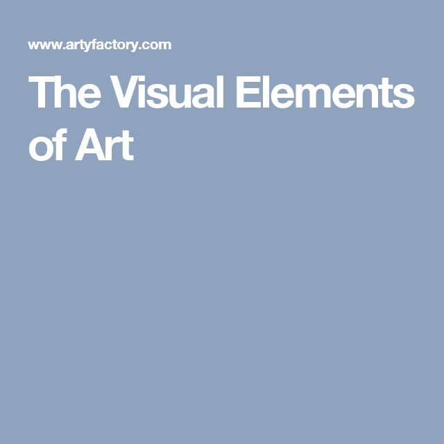 What Are The Visual Elements Of Art : Best images about elements of art principles