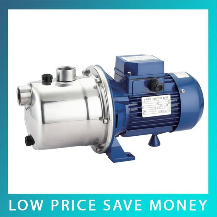 130.00$  Buy now - http://alirfp.worldwells.pw/go.php?t=32685925530 - 0.37KW Stainless Steel Jet Pumps 220V/50HZ High Pressure Building Booster Pump SZ045D 130.00$