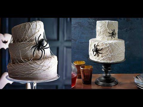 Торт на Хэллоуин Как украсить торты и пирожные к празднику Хэллоуин Идеи...