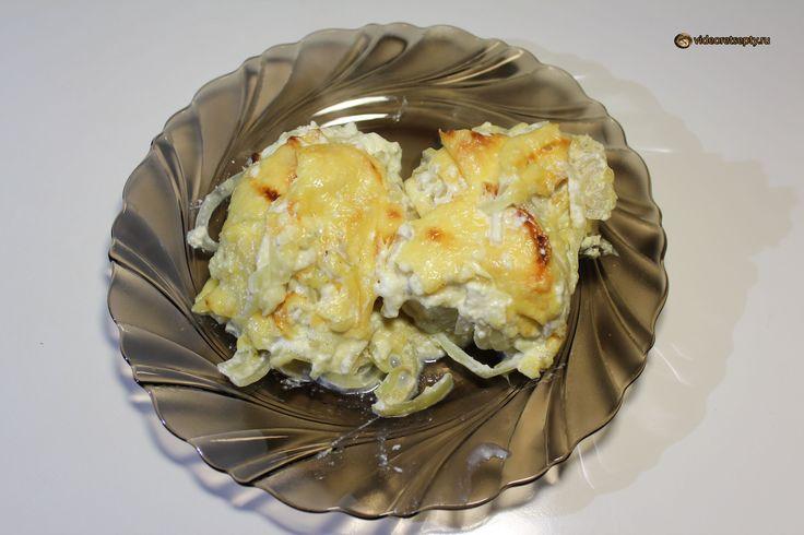 Треска запеченная в духовке / Cod baked in the oven