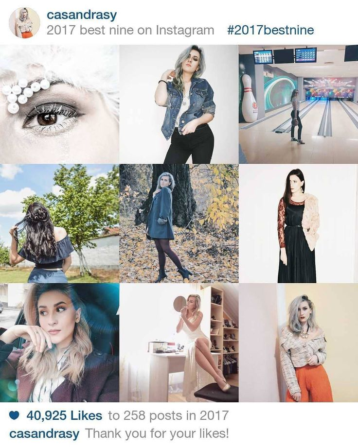 "32 Likes, 1 Comments - Casandra Contora (@casandrasy) on Instagram: ""My best nine ❤️ #2017bestnine #style #fashion #bestnine #look #beauty #outfits #makeup"""