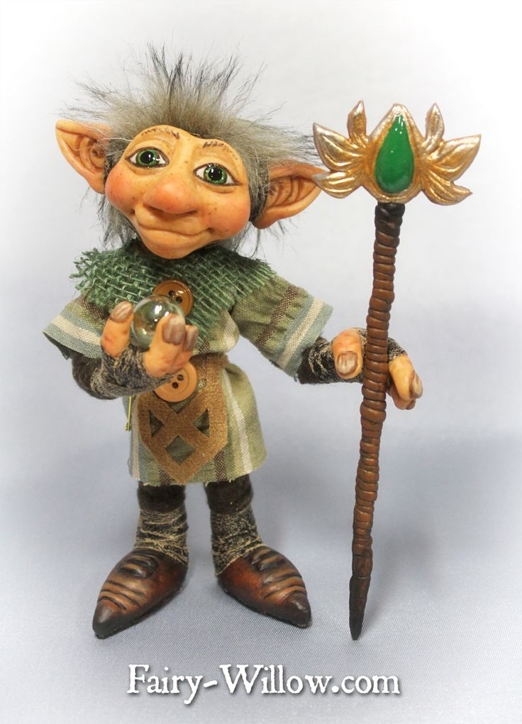 Crystal Guardian $125 http://fairy-willow.com/trolls.html#galaxy