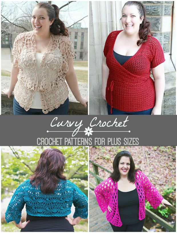 Curvy Crochet Patterns for Plus Sizes