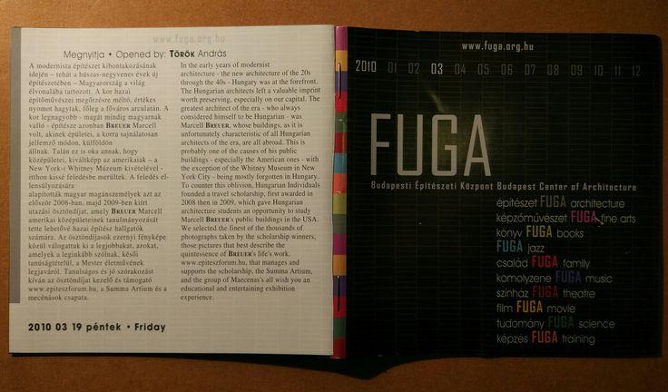 Breuer ösztöndíjasok @FUGA