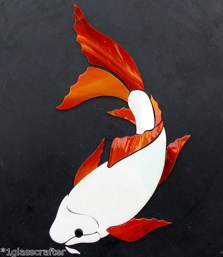 185 best images about stained glass fish ponds on for Koi fish for sell