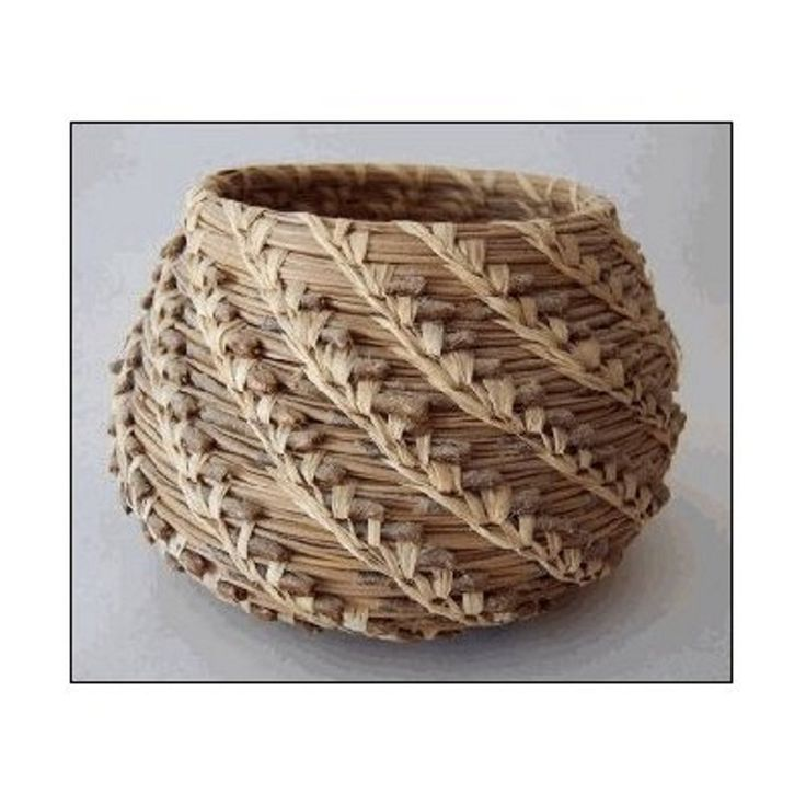Step by step you will learn how to coil and stitch a fragrant pine needle basket of your own design. Choose from eight easy basketry stitches and a variety of lovely basket shapes. As you stitch your