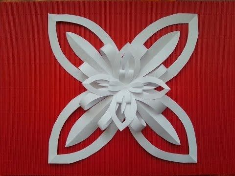 TUTORIAL: DECORAZIONE con un FOGLIO di CARTA (facile DIY) - YouTube