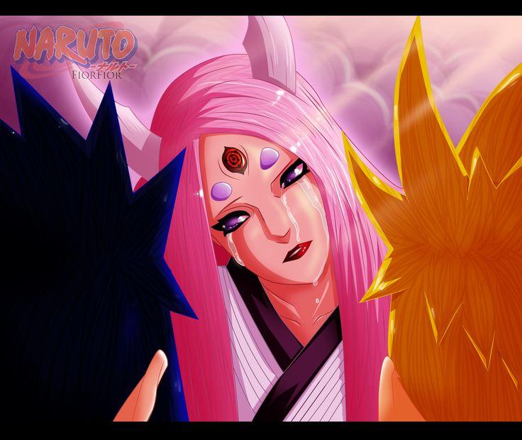 A Mother's tears - Naruto, Sasuke, Kaguya - Cp 681 by FiorFior.deviantart.com on @deviantART