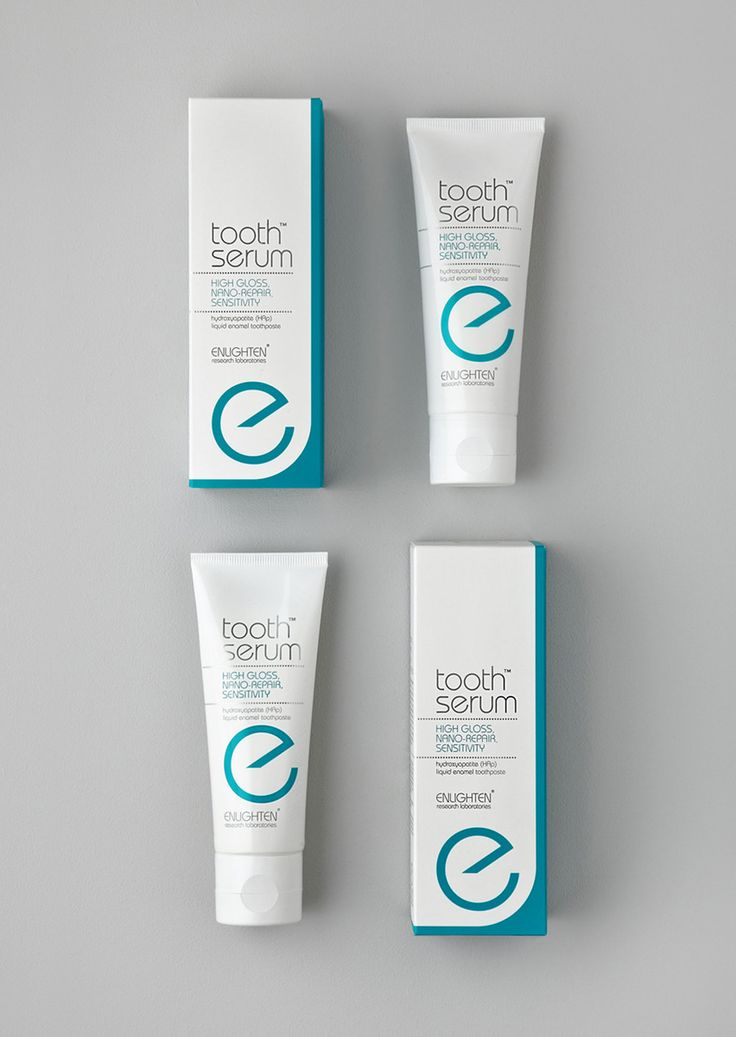 Enlighten teeth whitening systems #packaging design