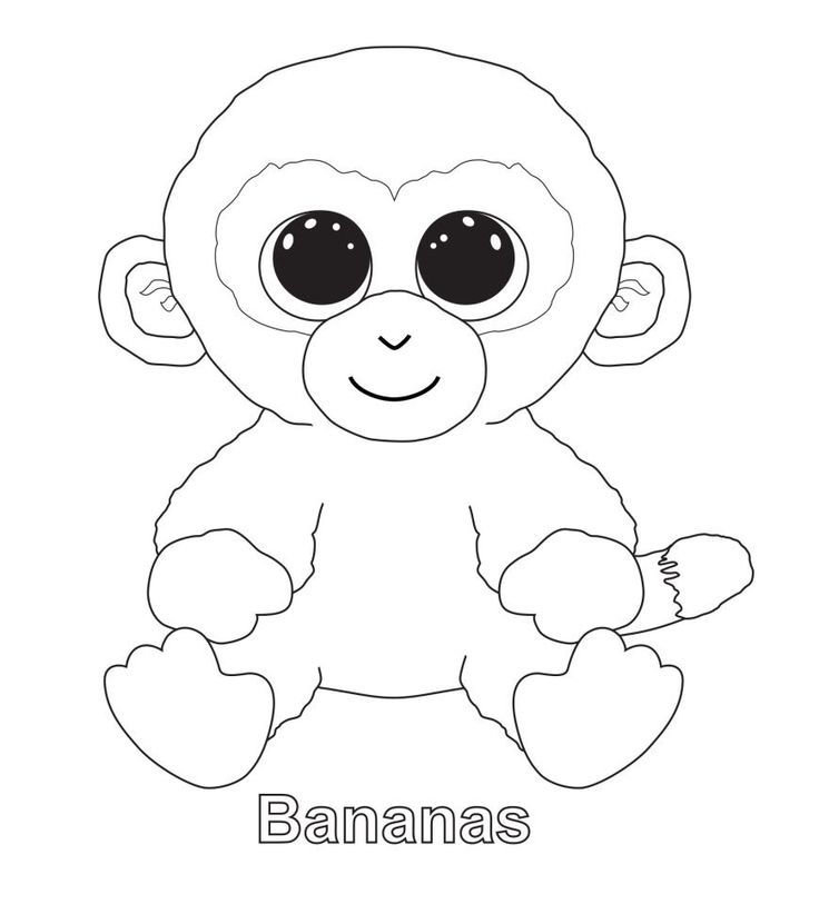beanie boo coloring pages owls - photo#19