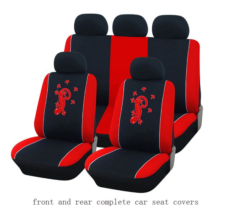 for opel astra h g j opel insignia corsa elastic gecko front and rear full car seat covers Interior Accessories grey Seat Covers