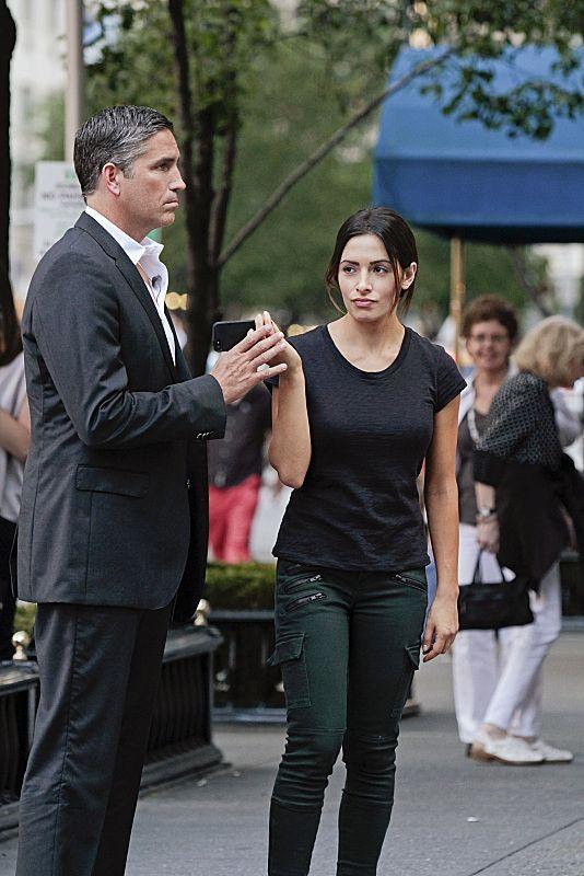 """Jim Caviezel, Sarah Shahi  """" Nothing to Hide."""""""