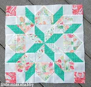 Give one of the most treasured quilt block patterns even more room to shine with this Supersized Star of Bethlehem Quilt Block pattern.