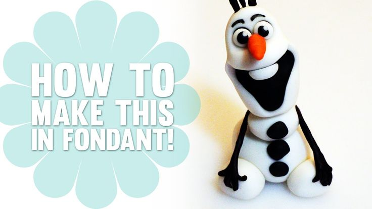 Learn How to Make Olaf from Disney's Frozen - Cake Decorating Tutorial