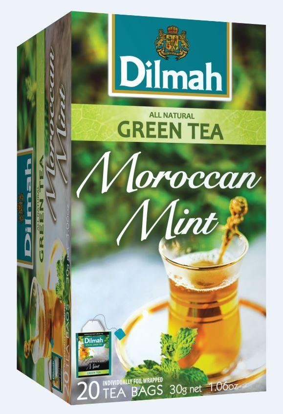 Zeleni čaj Dilmah - Maroška meta