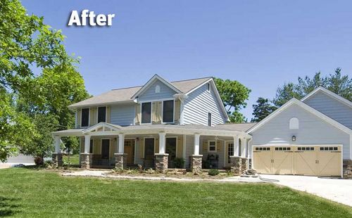 Exterior Makeovers Great Home Makeovers You Have To See To - Home exterior remodeling before and after pictures