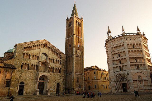 Piazza Duomo, Parma, Italy